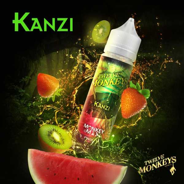 12 Monkeys Liquid - Kanzi