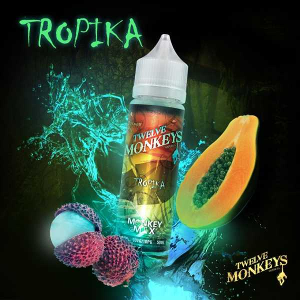 12 Monkeys Liquid - Tropika